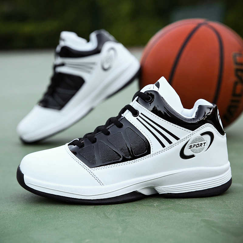 75d21b492e512b Men s Basketball Shoes Sport Air Ultra Ankle Boots Winter Cushion Breathable  Trainers Athletic All-Star