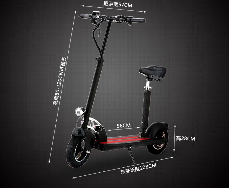 2 roues coup de pied vélo scooter électrique mini portée de pliage 50 km pour homme ou femme scooter électronique livraison gratuite
