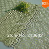 Po21 2158 White Water Soluble Polyester Wire Full Of Computer Embroidery Fabrics Embroidered Cloth Factory Orders