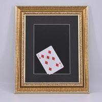 Lightning Card Into The Photo Frame Magic Tricks For Magician Stage Illusion Accessories Gimmick Prop Comedy