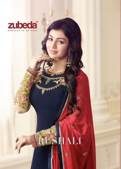 Zubeda Indian Pakistan Dress Women Churidar Salwar Kameez Designer