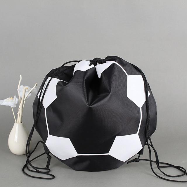 Bolsa de red portátil de nailon bolsa de red de transporte de bola para entrenamiento de fútbol