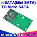 """2015 New msata a Micro Sata SSD de 1.8 """"para 2.5"""" Adaptador Convertidor de SATA Mini PCI-E MSata sata a M Sata SDD"""