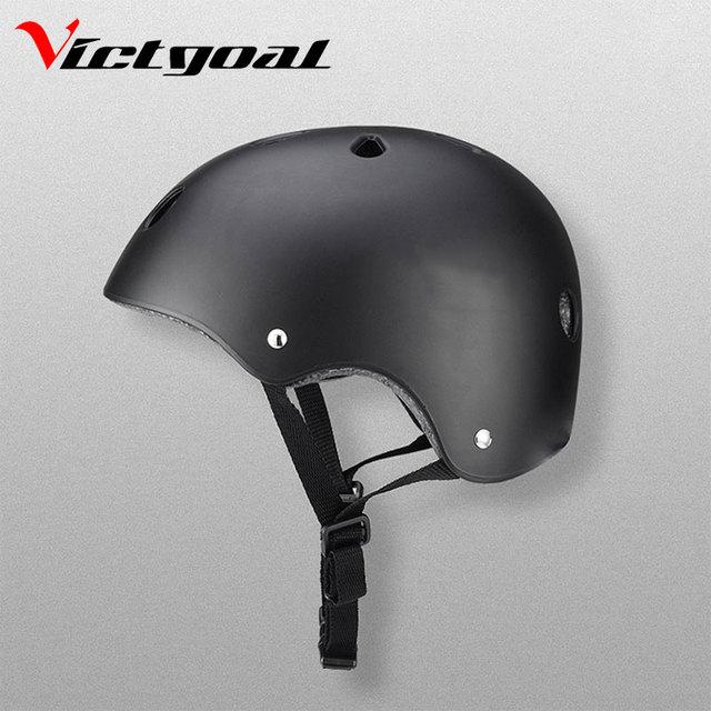 Для велосипеда victgoal шлем малыш роликовый шлем для катания на коньках Для мужчин Для женщин спортивный шлем скейтборд защитный шлем хип-хоп нарушая защитный Шестерни