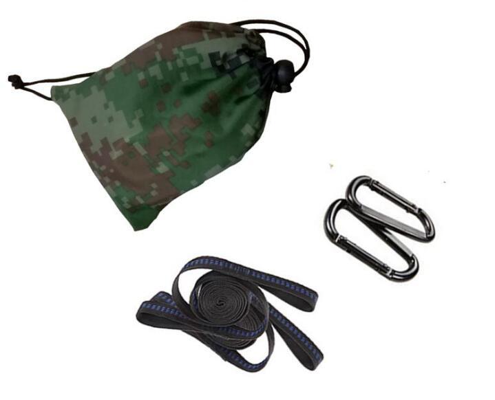 4 Options Hammock Straps Belts Steel Buckles Outdoor Hammock Accessories
