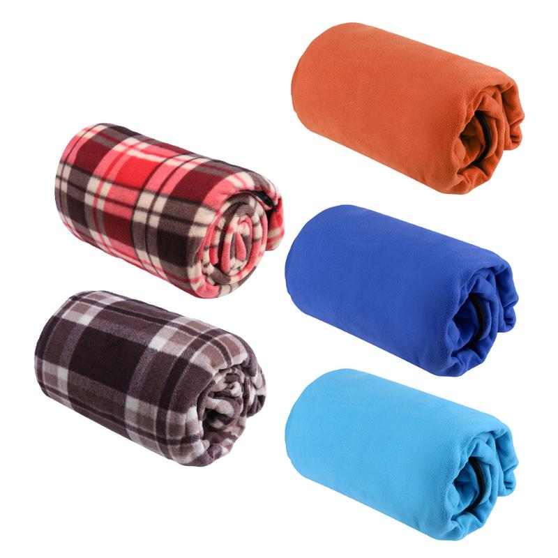 Ultra-light Multifuntion Portable Spring Winter Warm Polar Fleece Sleeping Bag Outdoor Camping Travel Hiking Sleeping Bag 5Color ...