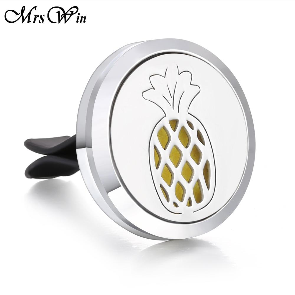 Ароматический диффузор ожерелье открытый медальон Подвеска для ароматерапии диффузор эфирного масла автомобильный освежитель воздуха автомобильный парфюмерный диффузор зажим - Окраска металла: 6