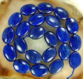 "Charming fashion jewelry beads Natural 13x18mm Egyptian Lapis Lazuli Jasper Oval loose Beads 15""A++ Wholesale and retail"