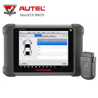 AUTEL MaxiSYS MS906TS Professional OBD2 Car Diagnostic Tool Auto Code Reader Scanner with ECU Coding TPMS Function Free Update