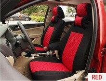 Kwheel 4 цвета Шелковый дышащий Подушки настроить сиденья для Mazda 2 3 6 CX-5 CX-9 CX-7 с 2 шее поддерживает