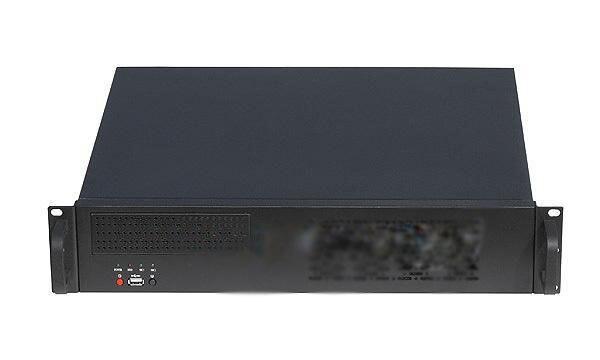 Top 2u-400 short exquisite 2u server industrial computer case
