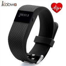 Kobwa Смарт Браслет Спорта Фитнес Брас трекер сна монитор сердечного ритма Смарт-браслет для Android IOS Телефон b8-2543