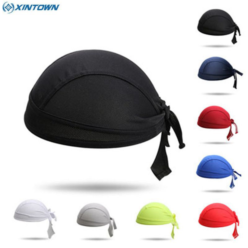 XINTOWN Free Shipping Team Cycling Cap Sweatproof Pirate Hat Ciclismo Headband Bike Riding Headwear One-Size
