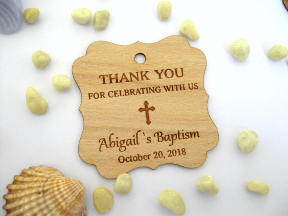 Gift Favors Name /& Date Any Text Personalised Christening Baptism Robe,Garment