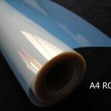 A4 размер рулона 0.21 М широкий струйный водонепроницаемый Млечный Пленка ПЭТ для чернил краски принтера