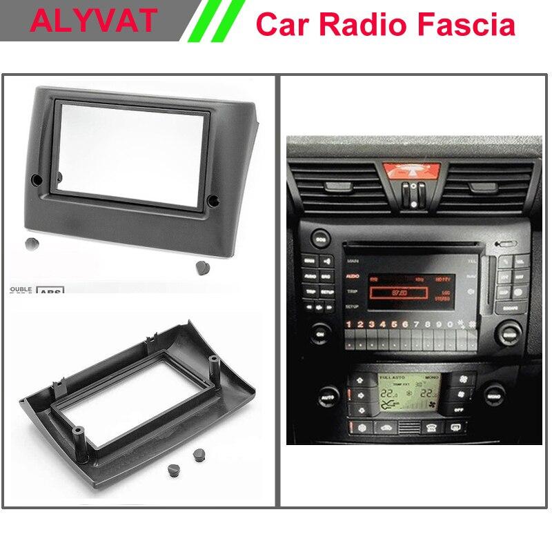 Double Din Voiture Panneau Avant Kit Pour Audi A3 Voiture Audio Stéréo Radio Trim