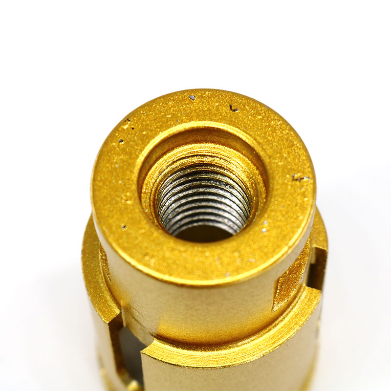 5Pcs Set Diamond Drill Bit Yellow Brazing Aluminum Box Packed Professional Metal Alloy Stone Wood Drill Bit Woodworking Tool in Drill Bits from Tools