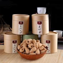 50pc/Box Laoshan Sandalwood 8-10min Burning Smoke Backflow Tower Incense Cones Fragrance For Aromatherapy
