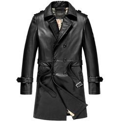 Autumn winter genuine leather jacket men 100 cowhide long coat men lapel motorcycle jacket 2015 brand.jpg 250x250