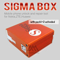 100% sigma caja original + Paquete de 1 Paquete de 2 de activación + 9 cables para Motorola t basados en MTK Alcatel Huawei ZTE y Lenovo envío gratis