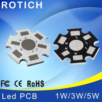 цена на 1W 3W 5W LED Lamp High quality PCB Board, 20mm LED Aluminum Base plate for high power LED Beads