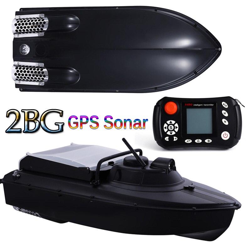 Atualizado GPS Sonar Sonar localizador De Pesca Isca Barco JABO 2BG 20A 10A Piloto Automático Barco loja 8 alvo ninhos de nidificação