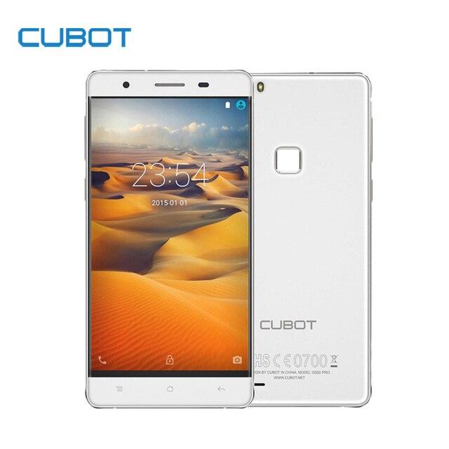 Original CUBOT S550 Pro 5.5 Inch HD Screen Smartphone 3GB RAM+16GB ROM Cell Phone MTK6735 Quad Core Fingerprint Mobile Phone