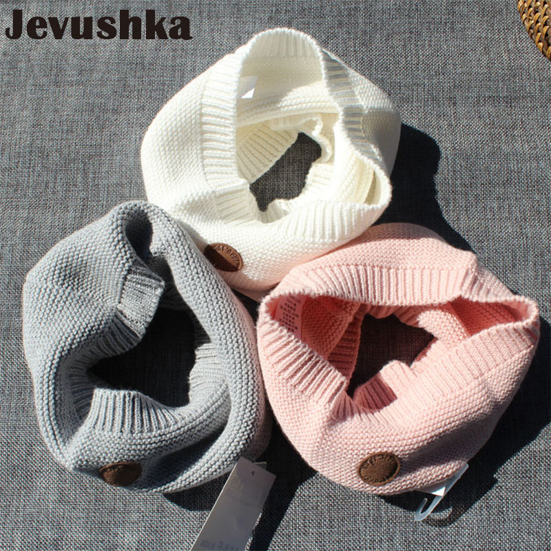 100% Cotton Baby Infinity Scarf Winter Knit Scarves for Kids Girl and Boy Scarf SF001 защитный детский шлем
