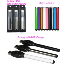 20pcs lot Colorful O pen vape bud touch battery with 510 thread for CE3 vaporizer pen