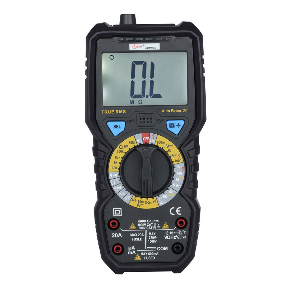New Style BSIDE ADM08D Non-contact True RMS Value Digital Multimeter with Backlight  цены