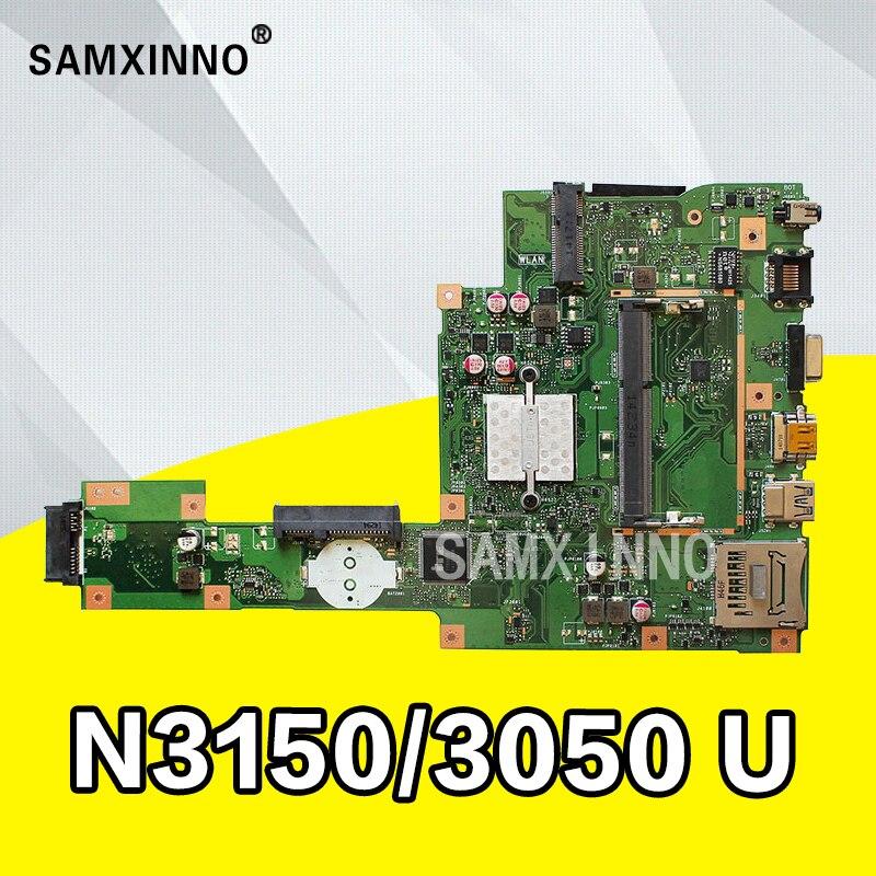 все цены на X553SA Motherboard N3150/3050 For ASUS A553S A553SA F553S X553S laptop Motherboard X553SA Mainboard X553SA Motherboard test ok
