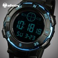 INFANTRY Watches Men Waterproof LED Sports Military Watches Men's Blue Case Analog Quartz Digital Watches Relogio Masculino