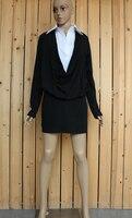 платье, виви весна сексуальный женское искусственного двухкомпонентный комплект приталенный бедра ультра-короткие - короткая один частей