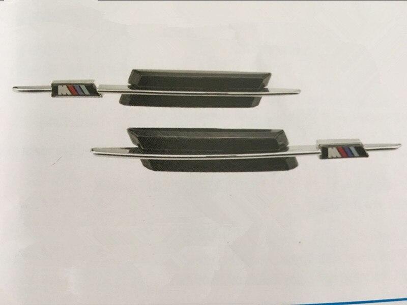 CYAN SOL BAIE LED Côté Marqueur LED Marqueur Latéral Fumé Clignotant Pour BMW E90 E91 E92 E81 E82 E87 E88 E60 E61 E46 E39