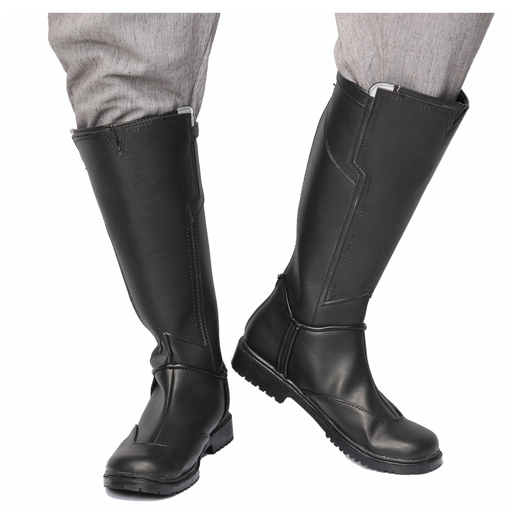 Avengers: Infinity War Cosplay Thor PU Leather Boots Halloween Cosplay Anime Costume For Men Adult