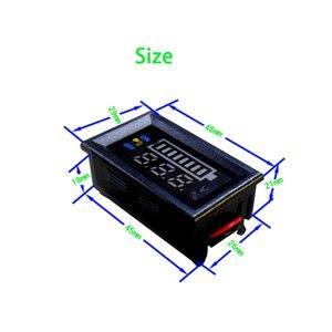 Image 4 - 2S 3S 4S リチウムバッテリー 12V 24V 48 12v 鉛酸バッテリー容量インジケータデジタル電圧計充電レベルテスターデュアルディスプレイ
