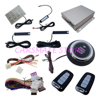 Smart Key PKE Car Alarm System with Remote Control Start & Push Button Start Automatic Recognition Of Identity Carsmate