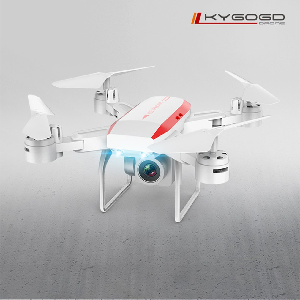 KY606D Professional Foldable RC Drone Aircraft 4K HD Wifi Camera VS KY601S Long Fly Time Helicopter with 3 Battery(China)