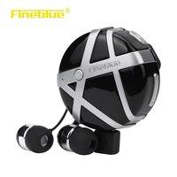Fineblue FD-55ไร้สายบลูทูธกีฬาวิ่งหูฟังสั่นสะเทือนAntiหายไปชุดหูฟังแฮนด์ฟรีA2DPสำหรับA Ndroid iOSโทรศัพท์