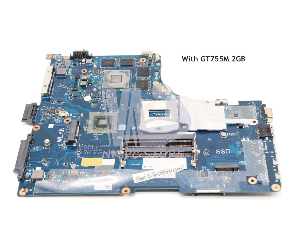 NOKOTION VIQY1 NM-A032 MAIN BOARD For Lenovo ideapad Y510P Laptop Motherboard 15.6 HM86 DDR3L GT755M 2GB Video cardNOKOTION VIQY1 NM-A032 MAIN BOARD For Lenovo ideapad Y510P Laptop Motherboard 15.6 HM86 DDR3L GT755M 2GB Video card