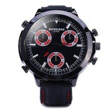 Shiweibao DFashion & Casual para hombres reloj de cuarzo Dial correa de PU