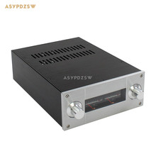 WA53 Full aluminum enclosure Power amplifier case Preamplifier chassis 308*222*92mm(Does not include Level meter)