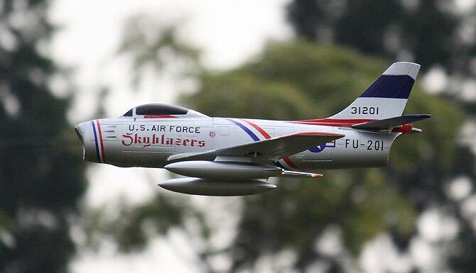 64mm EDF F-86 Sabre RC Airplane EDF Fighting EPO RC Fixed Wing Airplane PNP/ARF/KIT Wingspan 700mm