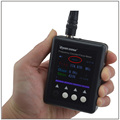 SURECOM SF401 PLUS 27MHz-3GHz Portable Frequency Counter Meter SF-401 Plus SF401Plus with CTCSS/DCS Decoder DMR Radio testable