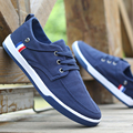 Мужская мода Повседневная Обувь Теннис Парусиновые Туфли Джинсовые Корзина Тренеры Прилив Молодежи Chaussure Homme