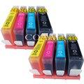 8 cartucho de tinta Compatible para hp 4610, 4620 de 5520 B8550 B8553 C6300 C6380 C5300 D5460 D5463 D7560 C5324 B109a C309 c410 para hp 364