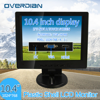 Display 10.4 VGA/HDMI Connector Monitor 1024*768 Song Machine Cash Register Square Screen Lcd Monitor/Display Non touch Screen