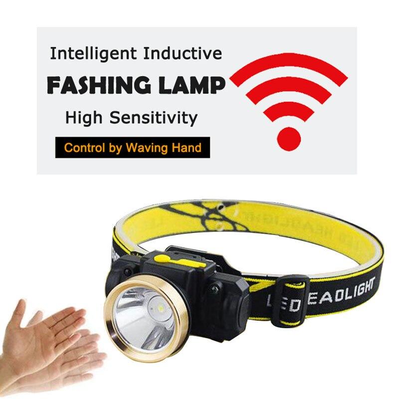 Mini LED USB Scheinwerfer Wiederaufladbare Körper Motion Sensor Scheinwerfer Wasserdichte leistungsstarke Taschenlampe Kopf Taschenlampe Outdoor Lampe licht