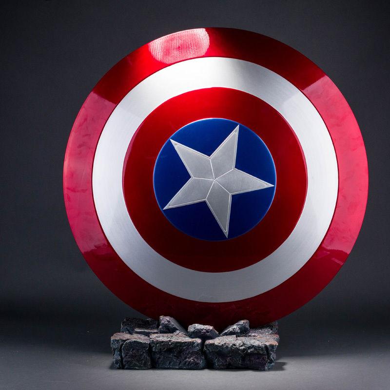 Brand New 2nd Version de CATTOYS 1:1 The Avengers Captain America ABS Bouclier Avengers