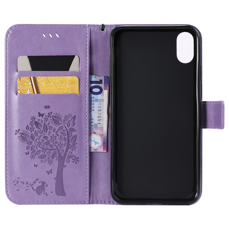 3D Tree Phone Case för iPhone 7 6 6S 8 Plus 5 5S 5C SE Väska Flip - Reservdelar och tillbehör för mobiltelefoner - Foto 5
